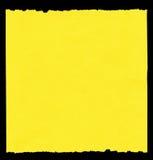 纸部分黄色 向量例证