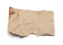 纸部分 免版税库存照片