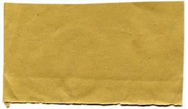 纸部分 免版税图库摄影