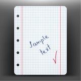 纸页向量 库存图片