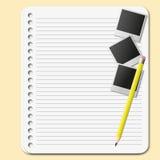 纸页 库存例证