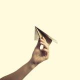 2纸飞机 图库摄影