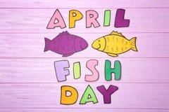 纸鱼和词组 库存图片