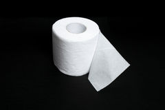 纸洗手间白色 免版税库存照片