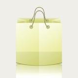 纸购物袋 库存例证
