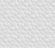 纸3D OM无缝的样式 库存例证