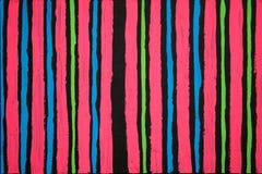 纹理、背景和一张原始的抽象绘画的五颜六色的图象 库存照片