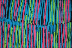 纹理、背景和一张原始的抽象绘画的五颜六色的图象 库存图片