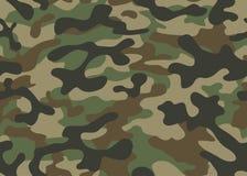 纹理军事伪装重复无缝的军队 库存照片