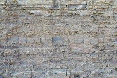 纹理分层堆积变质岩 库存图片