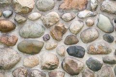 纹理古色古香的石墙 免版税库存图片