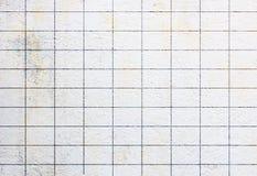 纹理和表面白色难看的东西水泥块 图库摄影