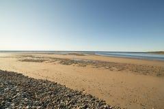 纹理小条在海滩的 图库摄影