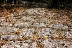 纹理岩石 免版税库存照片