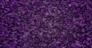 纹理心脏紫罗兰色紫色 免版税库存照片