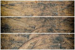 纹理或背景的树桩木结构 免版税库存图片