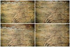 纹理或背景的树桩木结构 图库摄影