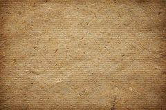 纹理或背景的自然手工纸 免版税库存照片