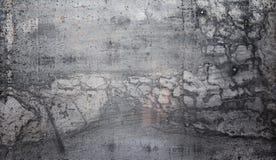 纹理是金属的 从一老生锈的工业背景 库存照片