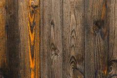 纹理木篱芭 库存照片