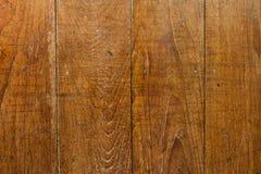 纹理木头桌 库存照片
