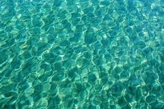 纹理水 免版税库存图片