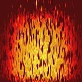 纹理火以黄色 免版税库存图片