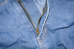 纹理牛仔裤  库存图片