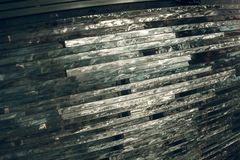 纹理玻璃 马赛克 玻璃的构成 免版税库存图片
