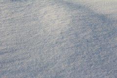 纹理的,与拷贝空间的背景新鲜的干净的雪 免版税库存照片