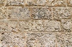 纹理石墙 图库摄影