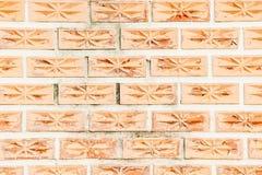 纹理砖块红色墙壁背景 库存图片