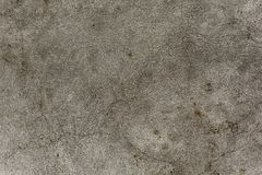 纹理粗糙的灰色混凝土墙 背景混凝土墙 免版税库存照片