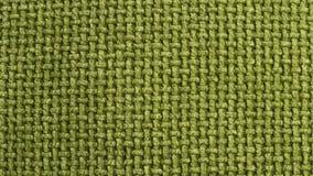 纹理绿色布料袋装 免版税库存图片