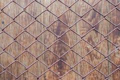 纹理背景木头和网 免版税库存图片