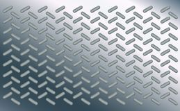 纹理背景样式椭圆样式 在镀铬物优美的板料的长圆形  钢基底金属爆沸  高科技设计 皇族释放例证