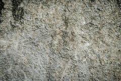 纹理背景的灰色肮脏的灰泥水泥墙壁 免版税库存图片