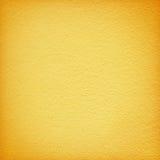 纹理背景的黄色难看的东西墙壁 免版税库存照片
