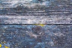纹理,老被绘的木头 库存图片