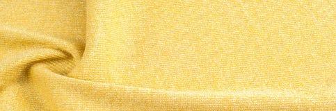 纹理,背景,样式 一种金黄颜色的织品 古铜色沙公 图库摄影