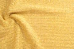 纹理,背景,样式 一种金黄颜色的织品 古铜色沙公 免版税库存照片
