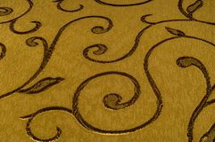 纹理,背景,样式 与发光的样式的锦缎织品 图库摄影