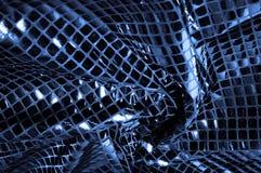 纹理,背景,样式 与蓝色c大闪闪发光的织品  免版税图库摄影