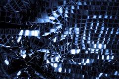 纹理,背景,样式 与蓝色c大闪闪发光的织品  免版税库存图片