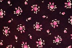 纹理,背景,样式 与smal的织品黑暗的樱桃颜色 库存图片