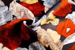 纹理,背景,样式 妇女的丝绸手帕是12月 免版税库存照片