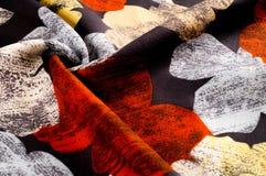 纹理,背景,样式 妇女` s丝绸手帕是12月 图库摄影