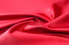 纹理,背景,样式 红色丝织物 这种缎织品 库存照片