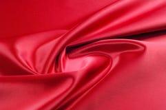 纹理,背景,样式 红色丝织物 这种缎织品 免版税库存图片