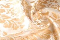 纹理,背景,样式 织品室内装饰品锦缎是reve 免版税库存图片